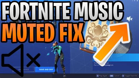 fix fortnite   sound  lobby fortnite