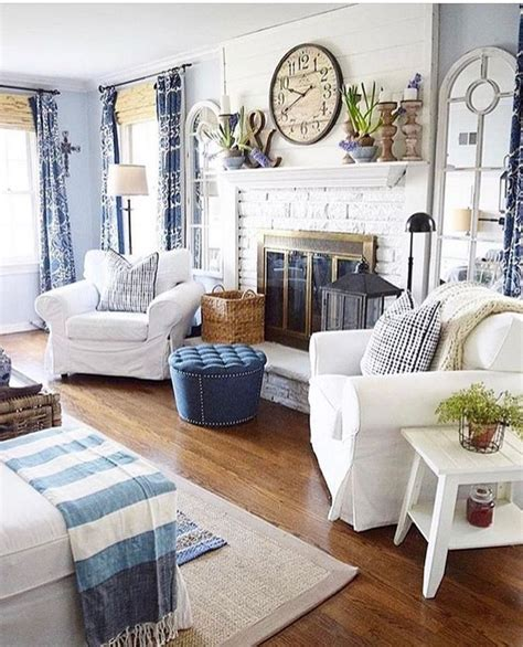 Living Room With Blue Decor by 33 Getting Smart With Home Decor Ideas Living Room