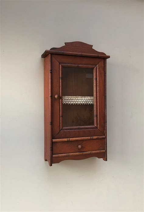 Small Wall Cupboard by Small Early 20th Century Pine Wall Cupboard Original