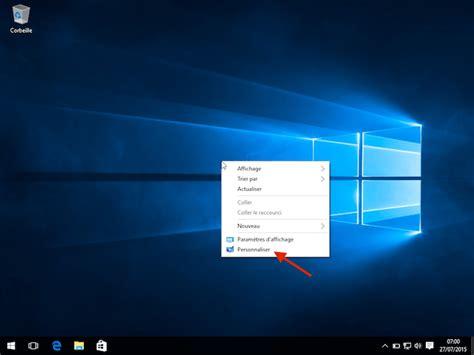 comment changer l image du bureau comment changer le fond d 39 écran de windows 10