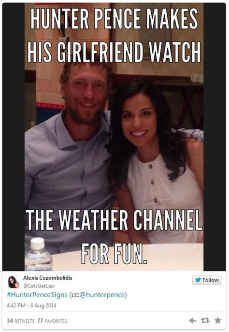Hunter Pence Memes - image 807425 hunter pence signs know your meme