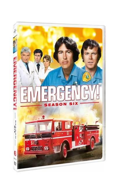 Emergency Season Six Tv Dvd
