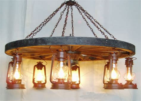 wagon wheel lights dxww026 60 8 5 foot diameter wagon wheel chandelier with