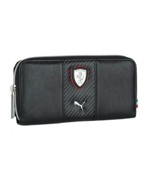 puma women black ferrari wallet buy    price