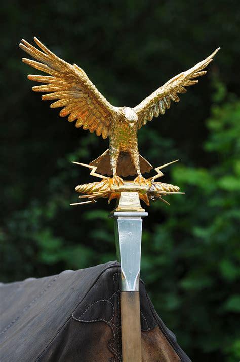 aquila roman imperial gold eagle standard  kelmarsh fe