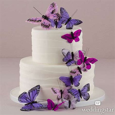 beautiful butterfly cake decorations sets wedding
