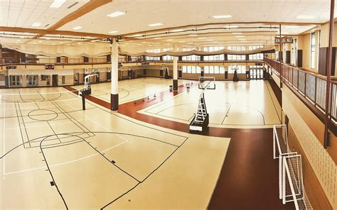 Gym - Running & Walking Track, Basketball & Volleyball ...