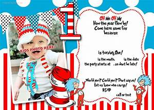 drseuss 1st birthday invitation template birthday With dr seuss birthday card template