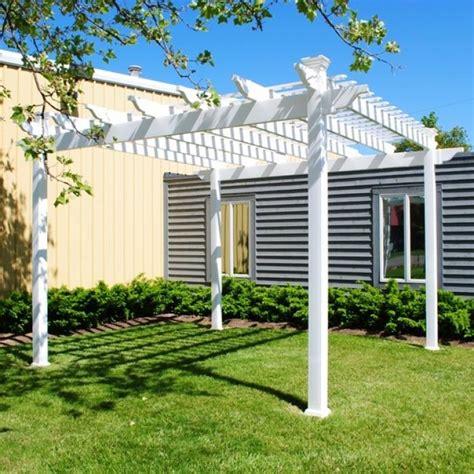 vinyl pergolas vinyl garden patio covers from vinyl