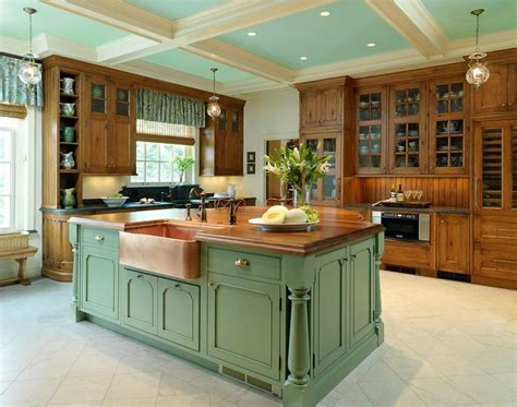 country kitchens with islands country kitchen island designs kitchen home designing