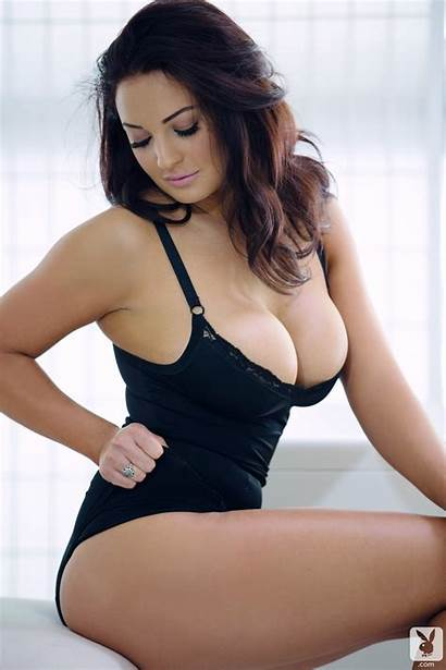 Rayanne Kendall Hair Cleavage Boobs Brunette Tight