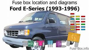 Fuse Box Location And Diagrams  Ford E  Econoline