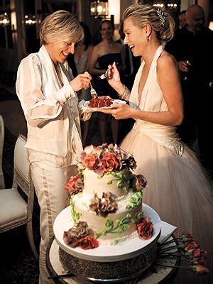 portia de rossie weds ellen degeneres  wedding journal