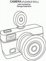 Coloring Camera Adults Symbolen Popular Library Clipart sketch template