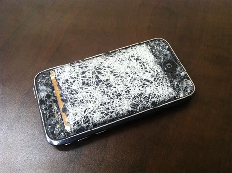 shattered iphone screen iphone 3g screen mission repair specials and