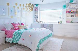 Cute, U0026, Stylish, Teenage, Girl, Bedroom, Ideas, U0026, Room, Decor