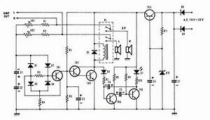 Free Circuit Diagrams  Speaker Protector Circuit With Dc