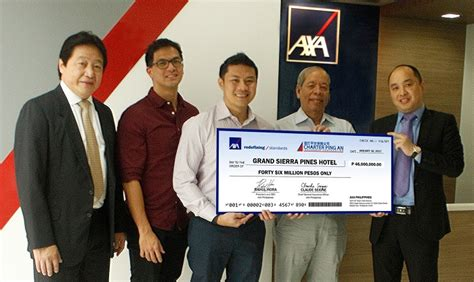 Our expertise comes from the partnership between metrobank, one of the foremost financial institutions in the philippines and the axa group, a worldwide leader in insurance and asset management serving 102 million customers in 56 countries. AXA Philippines: Immediate Check Release - Orange Magazine