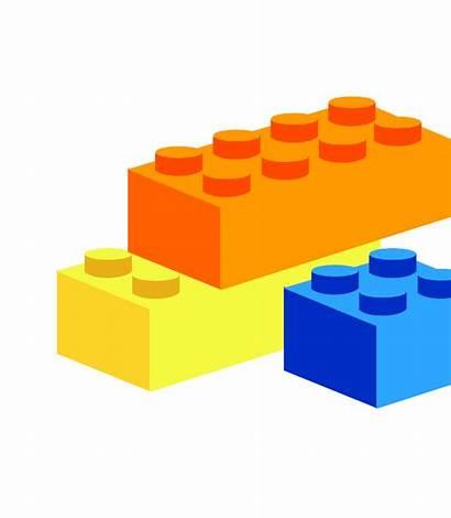 Lego Clip Vector Clipart Legos Border Svg