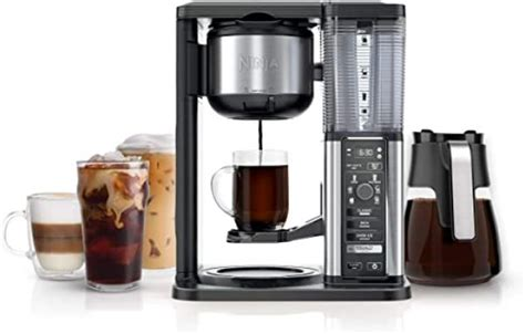Brew anything from a single cup or travel size to a half carafe or a full carafe in your coffee maker. Ninja Specialty Coffee Maker, with 50 oz. Glass Carafe ...