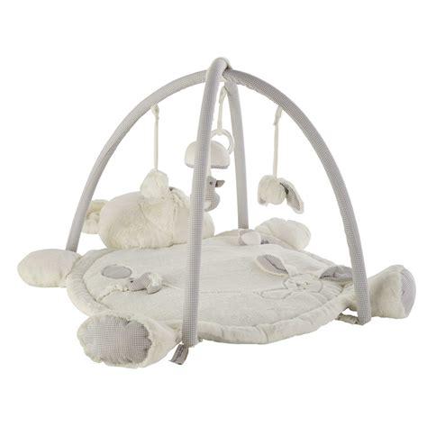 canapé noir et blanc pas cher tapis d 39 éveil ourson en coton 60 x 90 cm gaspard maisons