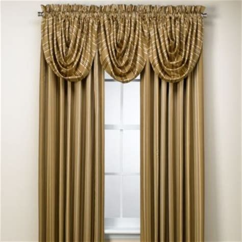 Noise Reducing Curtains Target by Buy Waterfall Valance From Bed Bath Amp Beyond