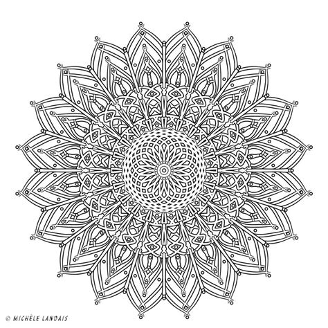 bureau vallee mandalas gratuits à colorier my soul light