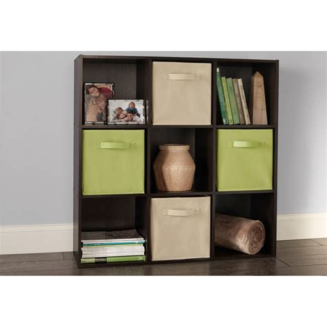 closetmaid cubeicals 9 cube organizer espresso ebay - Closetmaid 9 Cube Storage