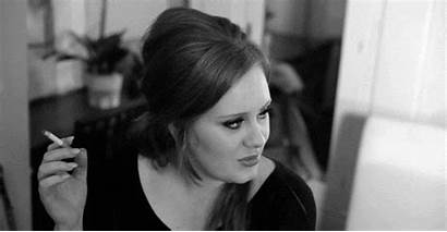 Adele Smoking Right Gifs Celebrity Eating Feel