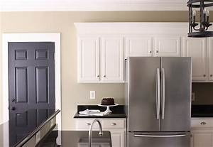 the yellow cape cod painting kitchen cabinets painted With kitchen colors with white cabinets with 3d wall art painting