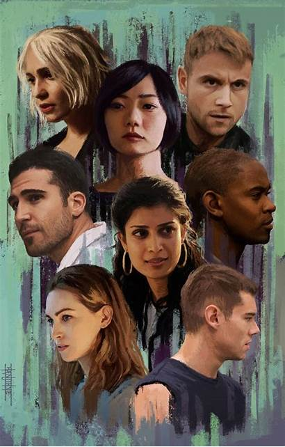 Sense8 Sense Netflix Wallpapers Wachowskis Tv Community