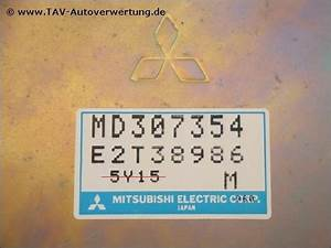 Engine Control Unit Md307354 E2t38986 7354 Mitsubishi Colt Lancer  0 00