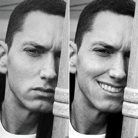 photoshop artist  eminem smile  results