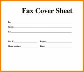 Word fax cover sheet spiritdancerdesigns Image collections