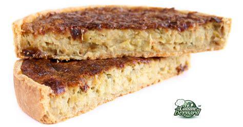 bernard cuisine la cuisine de bernard tarte aux poireaux