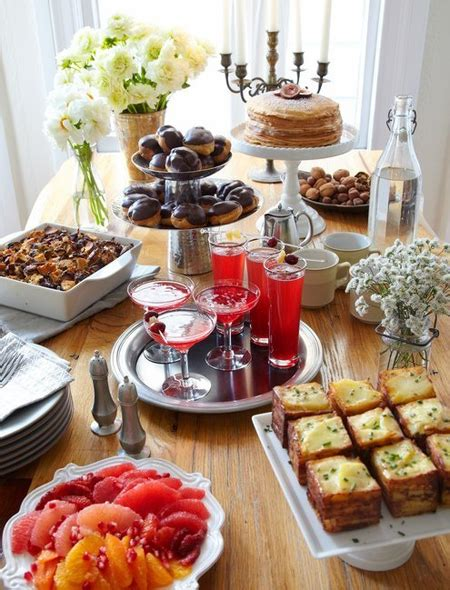 christmas breakfast party 10 buffet table decorating ideas