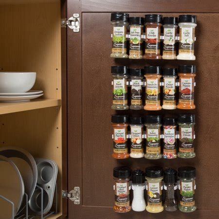 Spiced Rack Of by Spice Rack Organizer Cabinet Gripper Clip Strips For