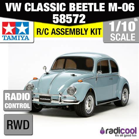 volkswagen tamiya 58572 tamiya vw classic beetle m 06 1 10th r c kit radio