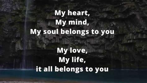 It All Belongs To You Lyrics Hd