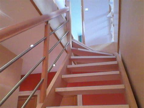 escalier garde corps barreaux inox h 234 tre menuiserie fagot