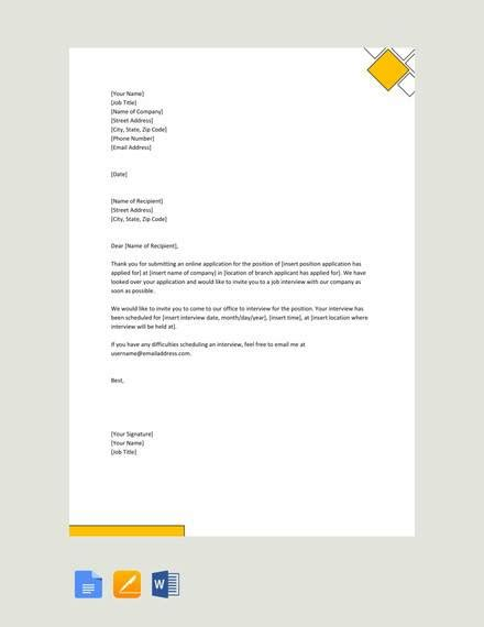 sample formal invitation letters word  pages
