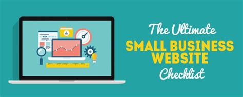 small business website design the ultimate small business website design checklist