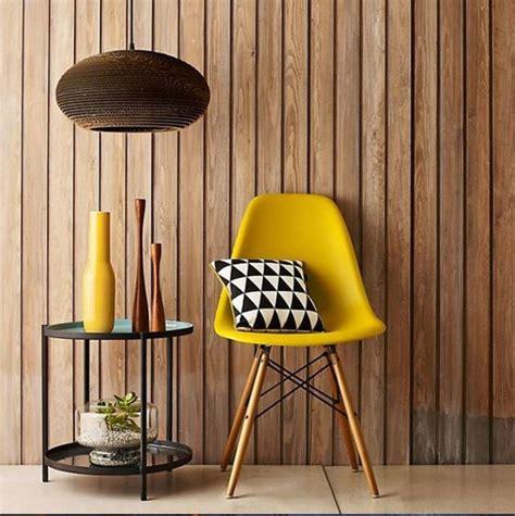 fauteuil jaune la couleur intemporelle  tendance