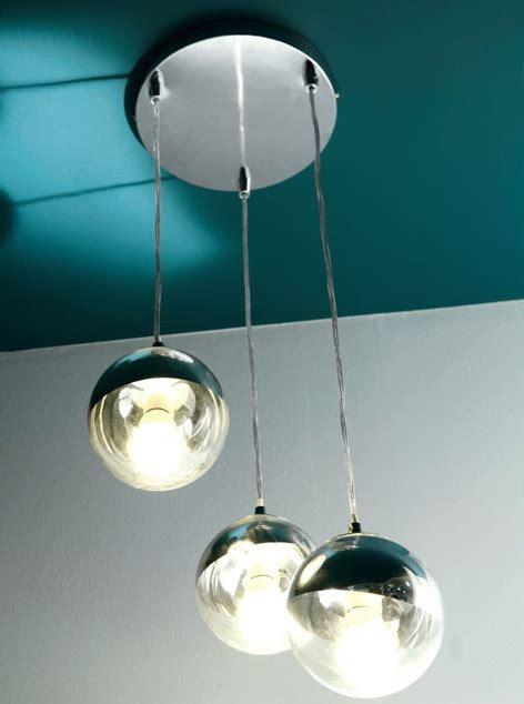 lustre cuisine castorama lustre 3 lumières castorama en métal chromé photo 1 15 c 39 est design original et très beau