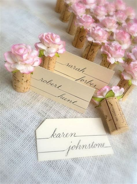 25 best ideas about wedding place cards on