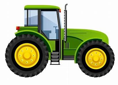 Tractor Clipart Deere John Tractors Drawing Farm