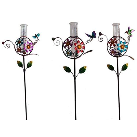 decorative garden stakes etsy uk seed head decorative