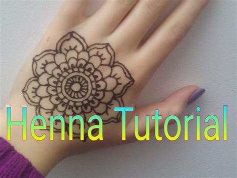 Diy Henna Tattoo  Anleitung Und Infos) Youtube