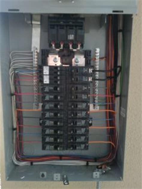 Breaker Panel Box Wiring Diagram by A Diy Problem We Often Find In Circuit Panel Wiring Kilowatt