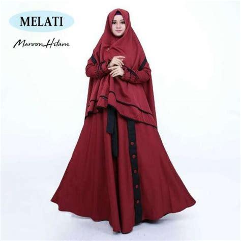 Ternyata dalam memilih gamis itu tidak bisa asal loh. Gamis Modern Melati Syari Misbi | Busana Muslim - Butik Jingga